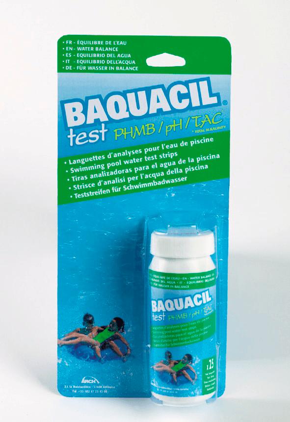 Teststrips Baquacil PHMB