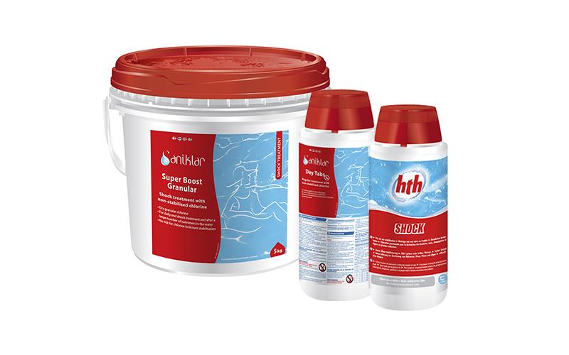 HTH® & Saniklar® ustabilisert klor