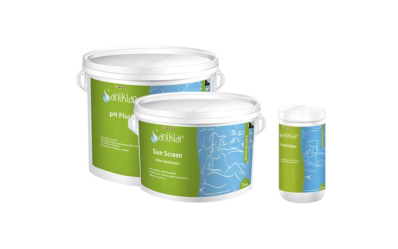 Produkter for justering av vannbalansen