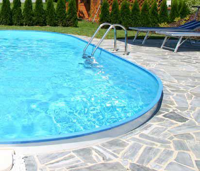 Eksklusiv Oval Pool