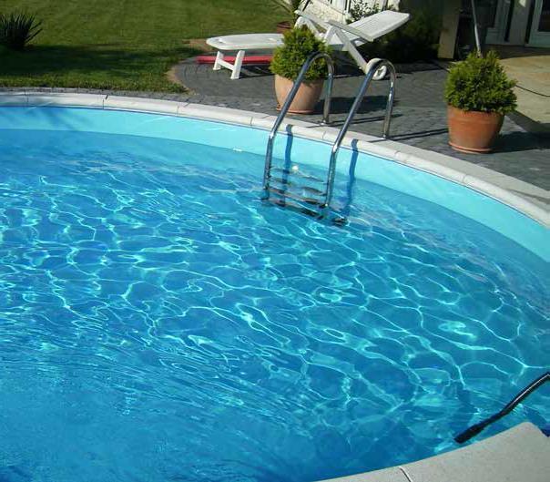 Eksklusiv Rund Pool