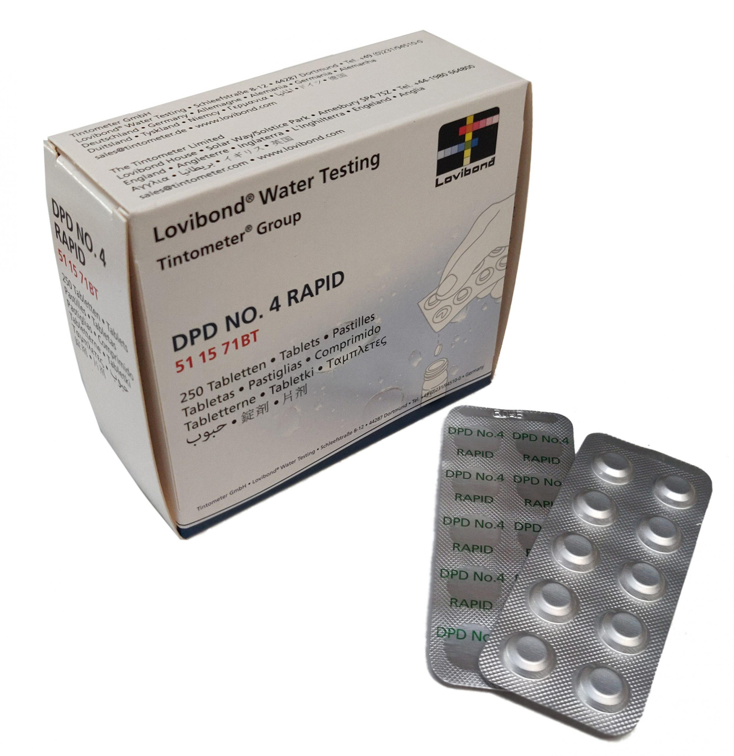 DPD Nr. 4 Rapid Aktiv Oksygen (håndrister)
