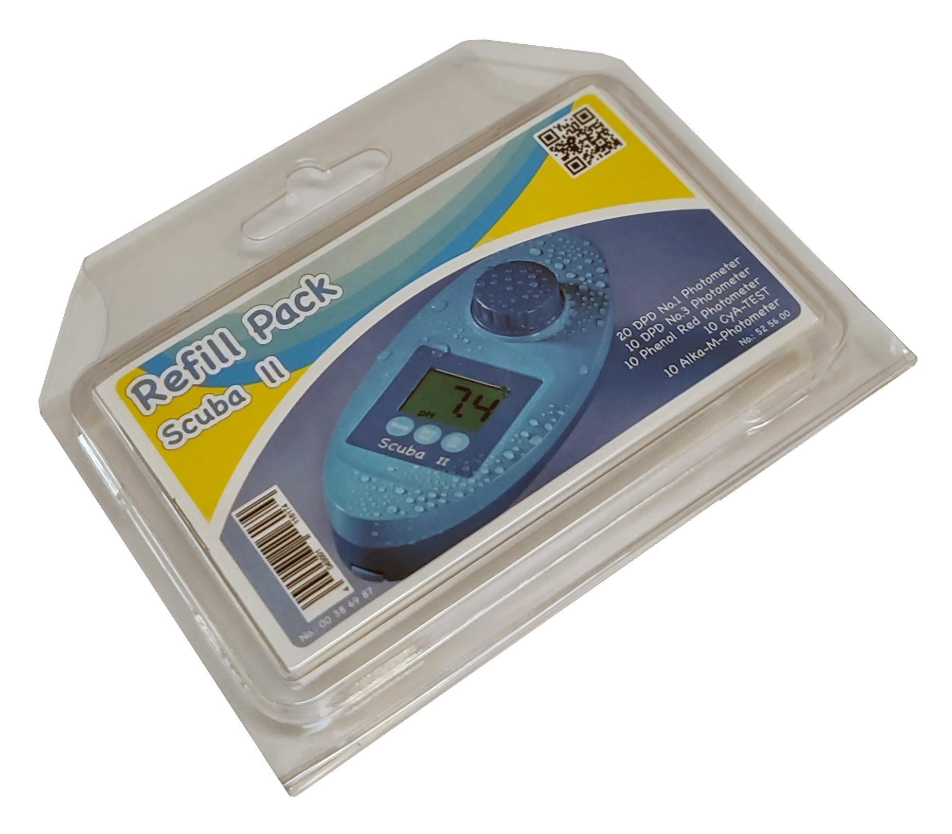 Refillpakke til SmartTest Photometer