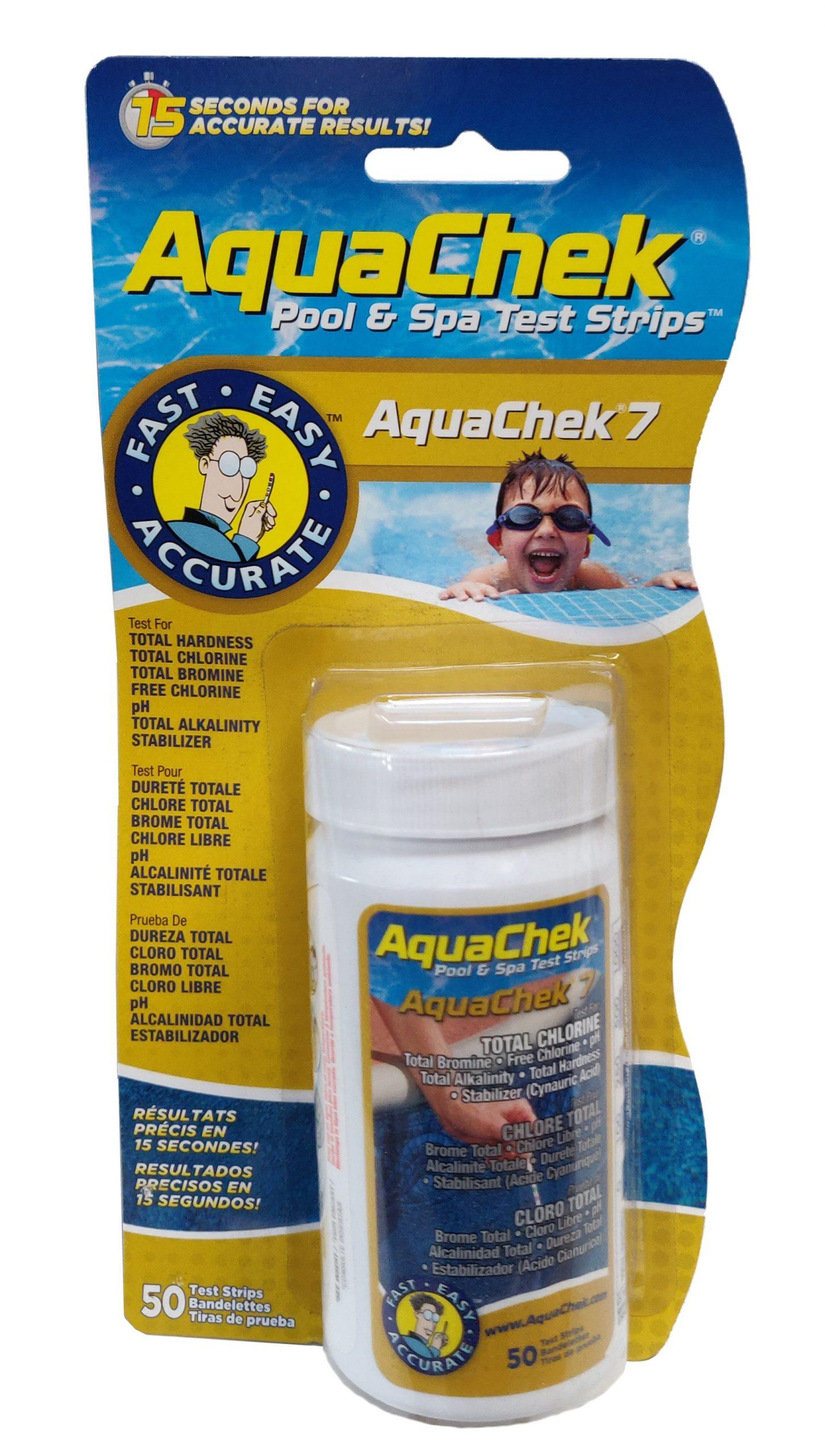 Teststrimler Aquacheck 7